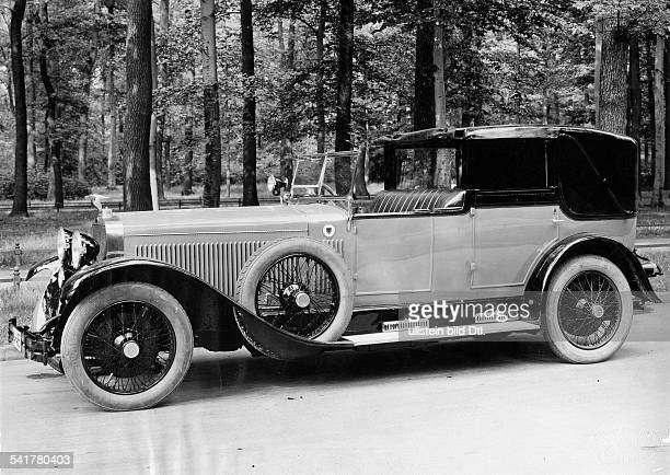 German Empire Kingdom Prussia German Empire Free State Prussia Car HispanoSuiza 130 hp cabriolet Photographer Zander Labisch Published by 'Die Dame'...