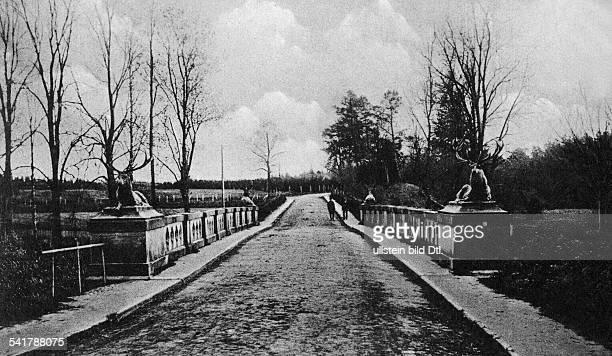 German Empire Kingdom Prussia Ostpreussen Provinz Rominten Emperor's bridge Postcard Photographer Verlag C E Herbst undatedVintage property of...