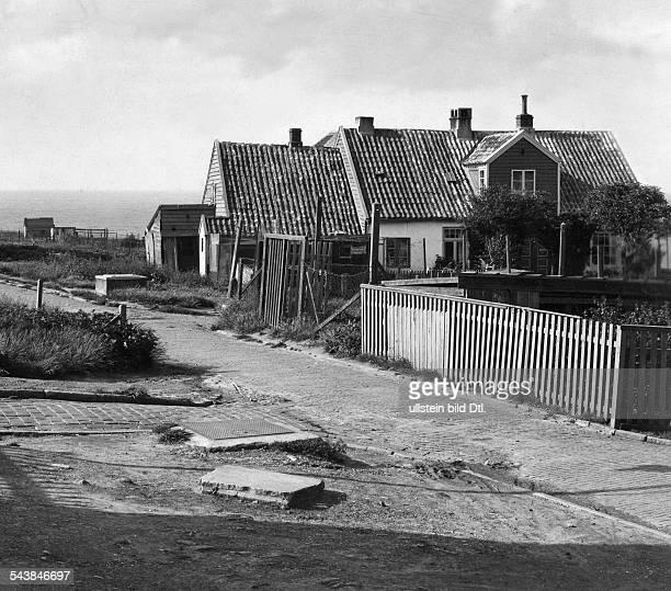 German Empire Kingdom Prussia SchleswigHolstein Province Helgoland The house in which August Heinrich Hoffmann von Fallersleben wrote the...