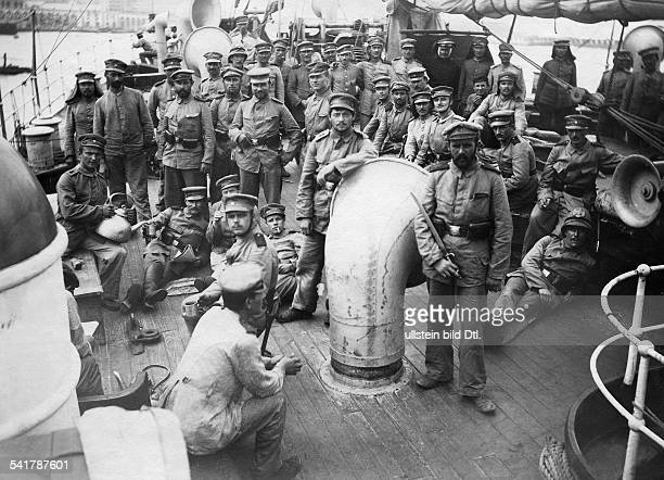 German Empire military German Expedition Corps in China to fight against the Boxer Rebellion German staff of Generalfeldmarschall Alfred von...