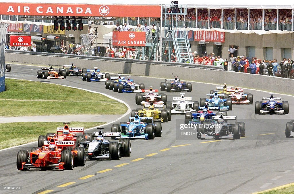 German F1 driver Michael Schumacher of Team Scuder : News Photo