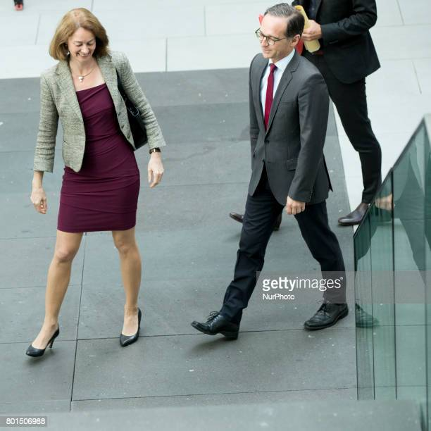 33 German Ministers Barley And Maas Report On Women Quote In