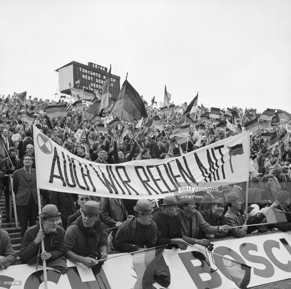 german-fans-at-hillsborough-stadium-for-west-germany-vs-switzerland-picture-id57258736