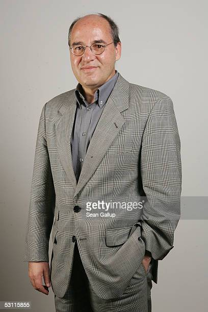 German farleft politician and member of the PDS political party Gregor Gysi poses for a portrait session June 22 2005 in Berlin Germany Gysi sees...