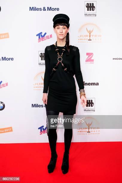 German fashion designer Esther Perbandt attends the Jupiter Award at Cafe Moskau on March 29 2017 in Berlin Germany