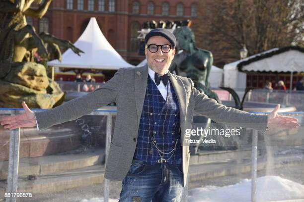 German fashion designer Thomas Rath attends the Holiday On Ice Show Time photo call on November 29 2017 in Berlin Germany
