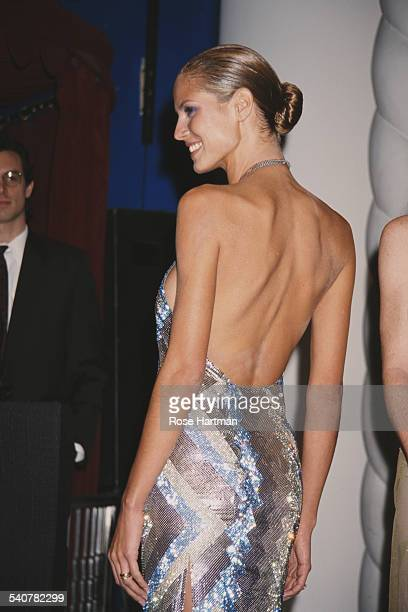 German fashion model Heidi Klum attends the Sports Illustrated Swimsuit Edition launch party at the Supper Club in New York City 9th February 1999