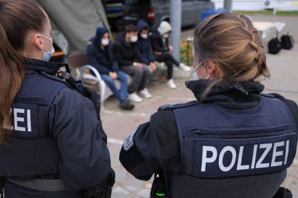 DEU: Police Patrol Polish Border As Migrant Numbers Rise