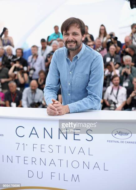 German film director Ulrich Koehler attends the 'In My Room' Photocall during the 71st annual Cannes Film Festival at Palais des Festivals on May 17...