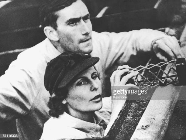 German film maker Leni Riefenstahl , who was a friend of Hitler and filmed the propaganda documentary 'Triumph of the Will'. She is pictured with...