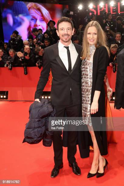 German film producer Oliver Berben and his wife Katrin Berben attend the Opening Ceremony 'Isle of Dogs' premiere during the 68th Berlinale...