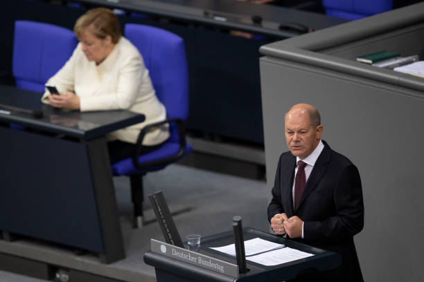 DEU: Bundestag Begins 2021 Federal Budget Debates During The Coronavirus Pandemic