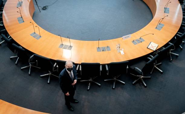 DEU: Olaf Scholz Testifies At Wirecard Commission