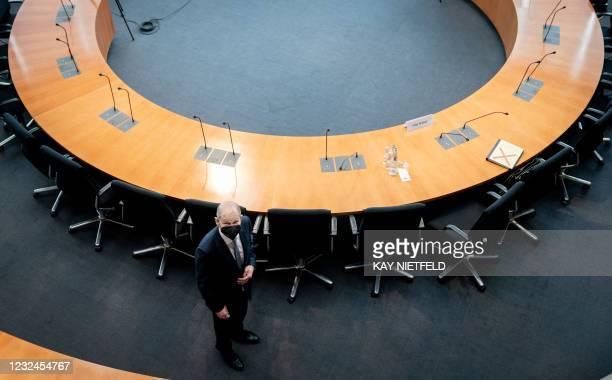 DEU: Olaf Scholz Testifies At Wirecard Commission