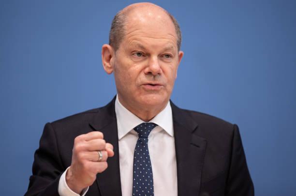 DEU: Finance Minister Scholz Presents Tax Revenue Forecast