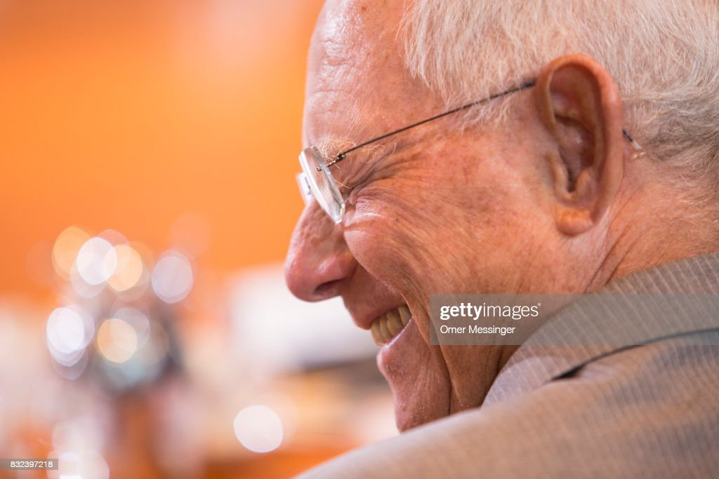 German Finance Minister Wolfgang Schaeuble is seen attending the weekly government cabinet meeting on August 16, 2017 in Berlin, Germany. Today's is the first cabinet meeting since government members return from summer vacation. Germany faces federal elections in September.