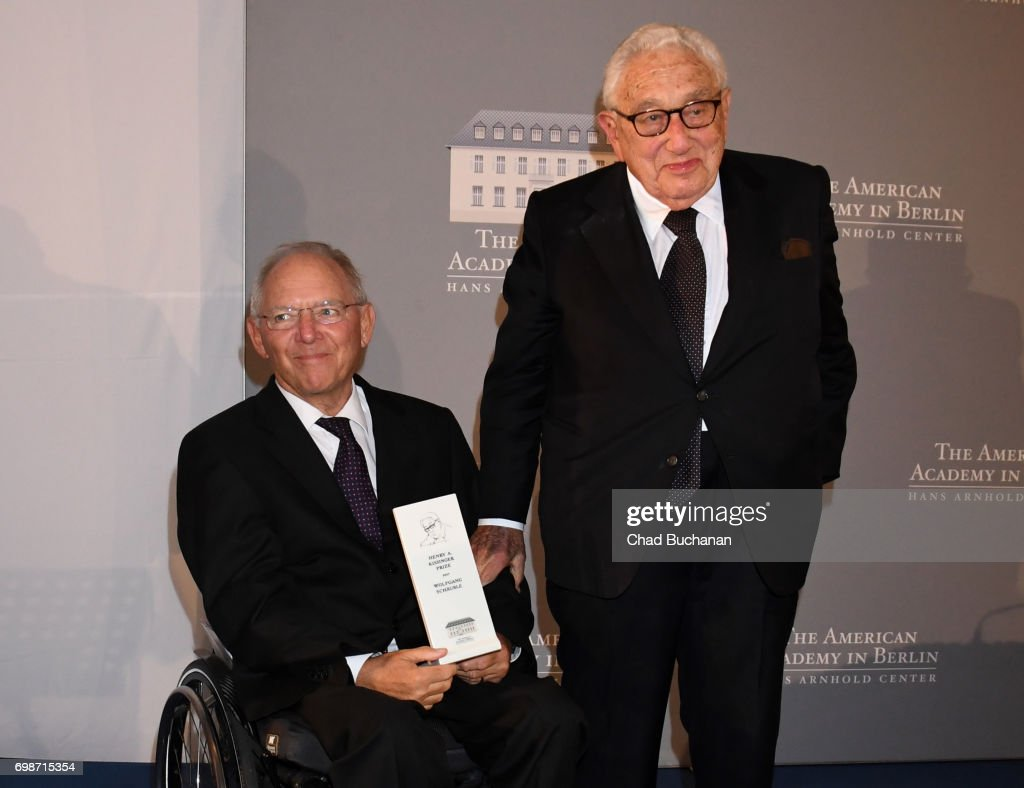 American Academy In Berlin Awards 2017 Kissinger Prize