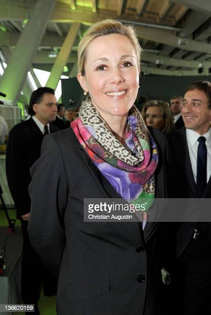 German First Lady Bettina Wulff attends the 'Hamburger Abendblatt' New Year's Reception on January 9, 2012 in Hamburg, Germany.