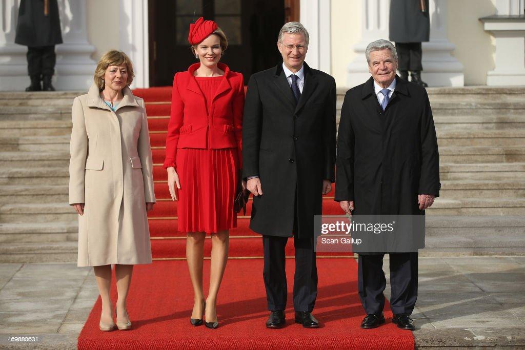 King Philippe And Queen Mathilde Of Belgium Visit Berlin