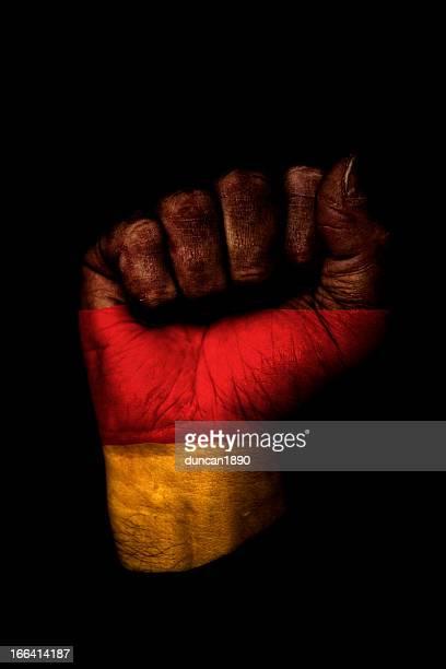 Deutsche Flagge Faust