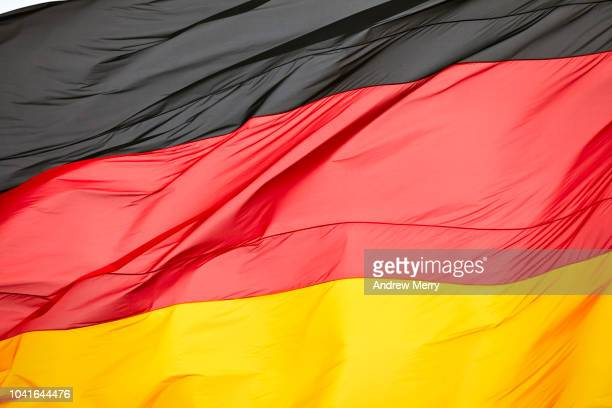 german flag - germany stock pictures, royalty-free photos & images