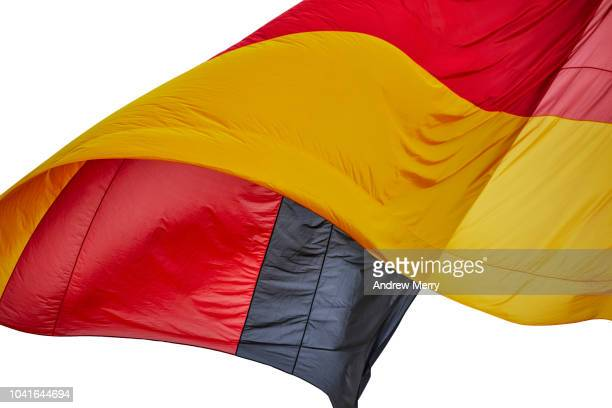 german flag - reunification stock pictures, royalty-free photos & images