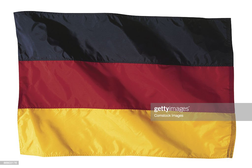 German flag : Stock Photo