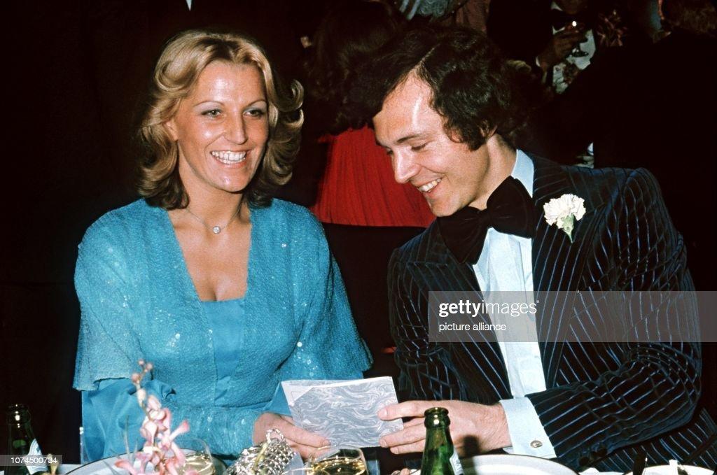 Franz Beckenbauer Brigitte Beckenbauer