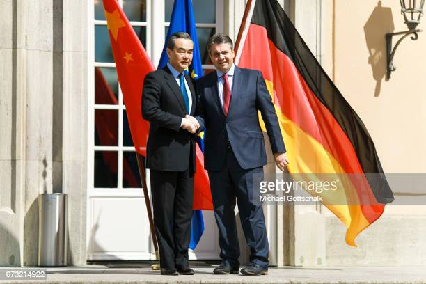 German Foreign Minister and Vice Chancellor Sigmar Gabriel and Wang Yi Foreign Minister of China meet for German Chinese Dialogue on foreign policy...
