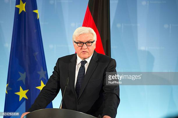 German Foreign Minister FrankWalter Steinmeier and Foreign Minister of the Republic of Togo Prof Dr Robert Dussey to a conversation in the Foreign...