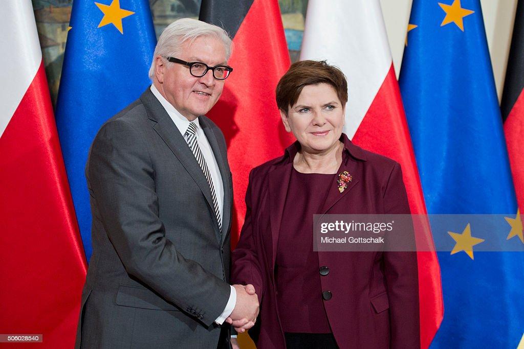 German Foreign Minister Steinmeier Visits Poland