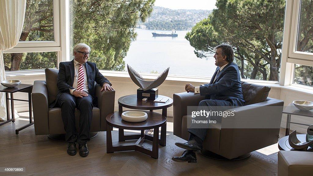 German Foreign Minister Steinmeier Visits Turkey