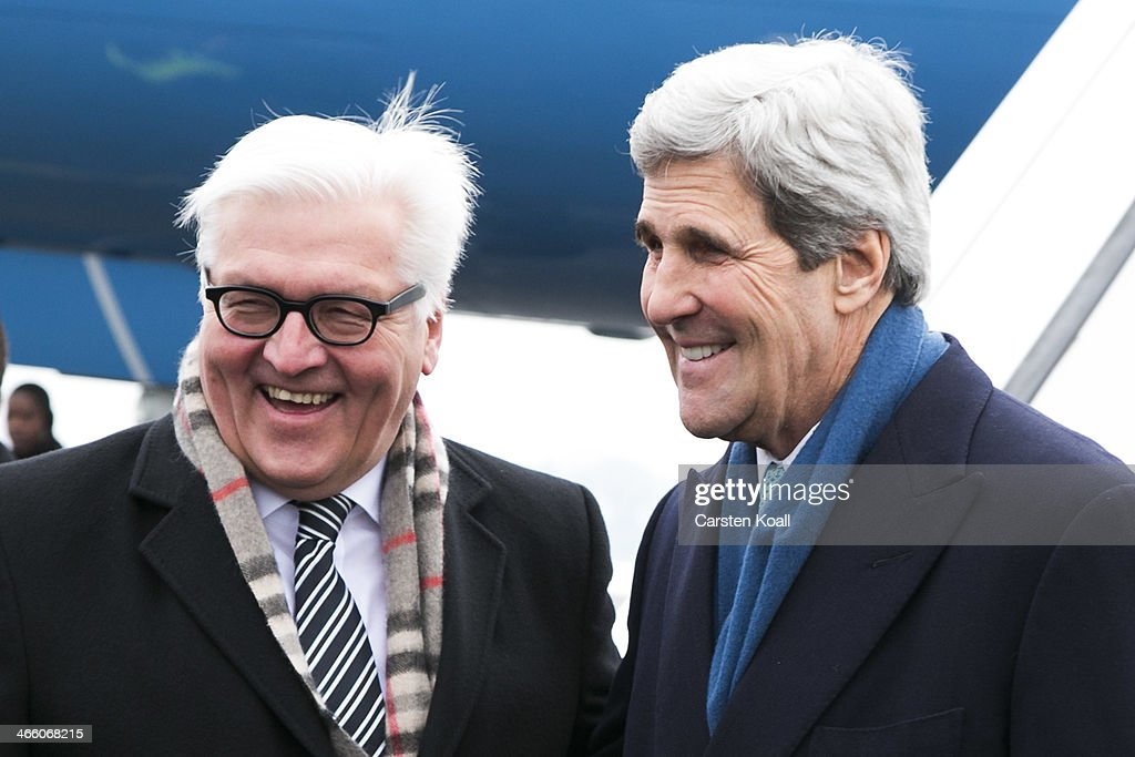 John Kerry Meets With German Foreign Minister Steinmeier : News Photo