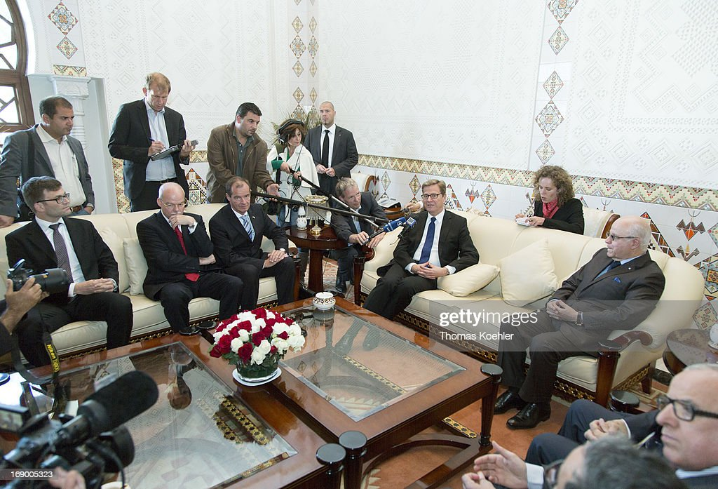 German Foreign Minister Visits Middle East And North Africa