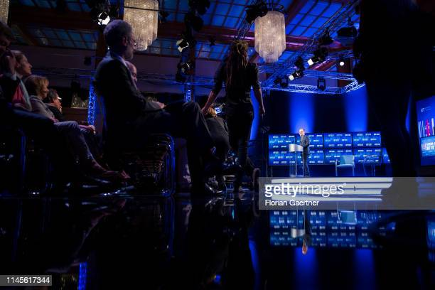 German Foreign Minister Heiko Maas is pictured at the International WDR Europaforum on May 23 2019 in Berlin Germany