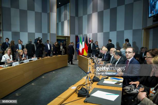 German Foreign Minister Heiko Maas is pictured before political conversation on May 15, 2018 in Brussels, Belgium. German Foreign Minister Heiko Maas...