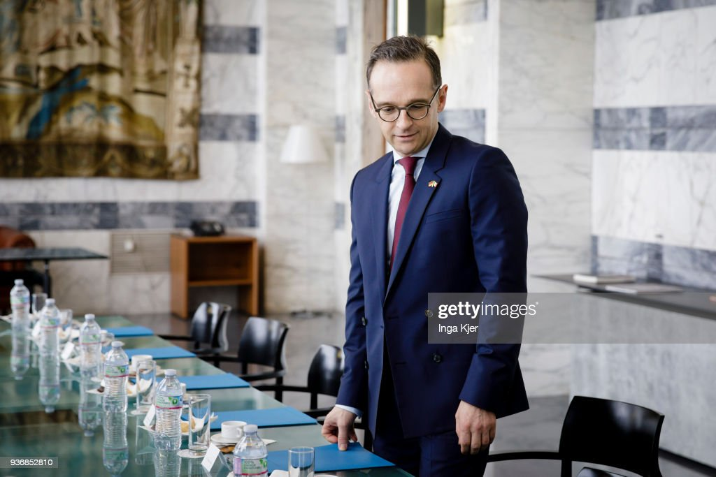 German Foreign Minister Heiko Maas In Italy