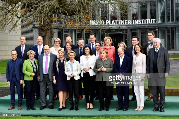 German Foreign Minister Heiko Maas State Secretary for Culture and the Media Monika Gruetters Economy Minister Peter Altmaier Family Minister...