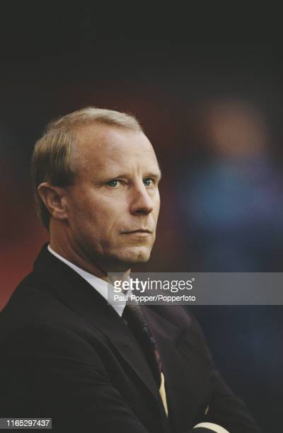 German former professional footballer Berti Vogts manager of the Germany national football team pictured during a UEFA Euro 1992 group 5 qualifying...