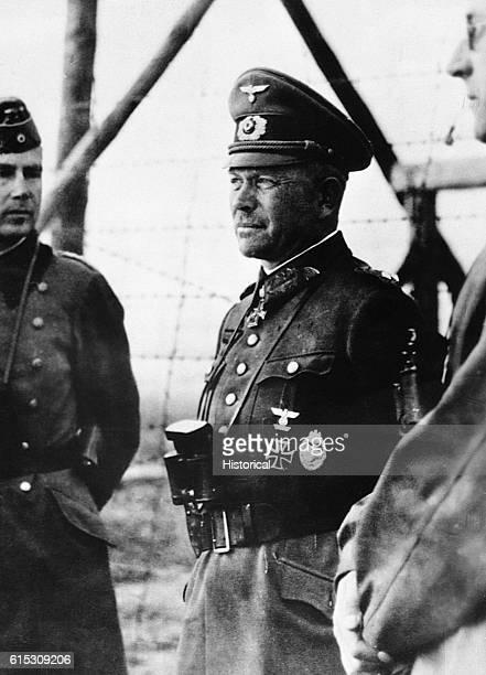 German General Heinz Guderian Hitler's armor tactician
