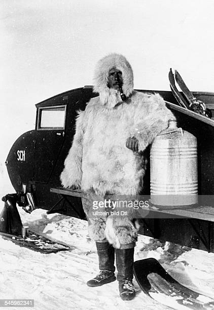 ALFRED LOTHAR WEGENER German geophysicist and meteorologist Photographed during his final expedition to Greenland November 1930