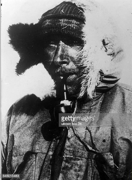 ALFRED LOTHAR WEGENER German geophysicist and meteorologist Photographed on his final expedition to Greenland November 1930