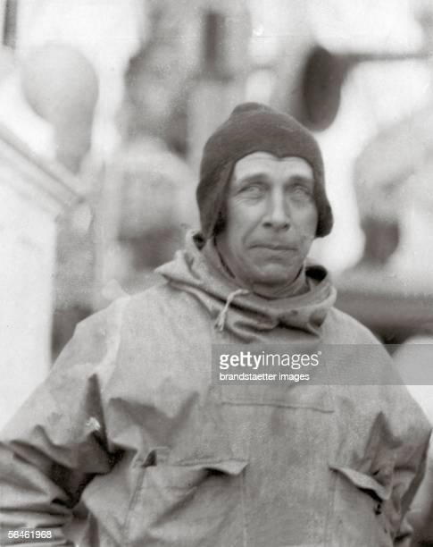 German geophysicist and meteorologist Prof Alfred Lothar Wegener Germany Photography Around 1920 [Der deutsche Geophysiker und Meteorologe Prof...