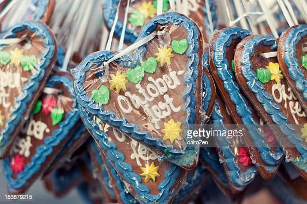 German gingerbread hearts