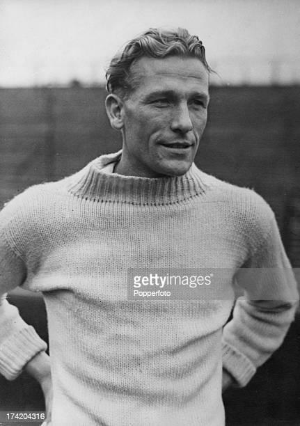 German goalkeeper Bert Trautmann of Manchester City FC circa 1955