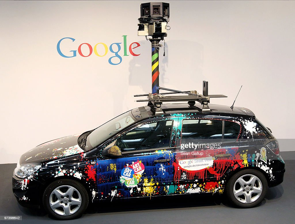 A German Google Street View car stands on display at the CeBIT Technology Fair on March 3, 2010 in Hannover, Germany. Google's Street View project has raised controversy from people across Europe worried about infringement of their privacy. CeBIT will be open to the public from March 2 through March 6.