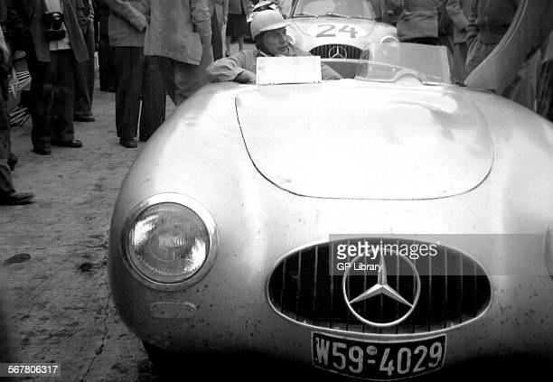 German GP sports open Mercedes 300SL Nurburgring 1952