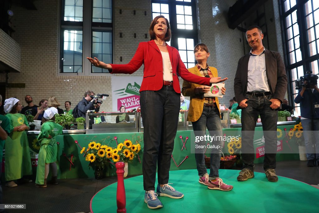 Greens Party Campaigns In Berlin