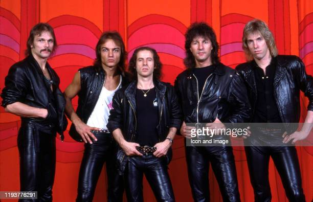 German guitarist and founder of the hard rock band Scorpions Rudolf Schenker German bass guitarist Francis Buchholz German vocalist songwriter and...