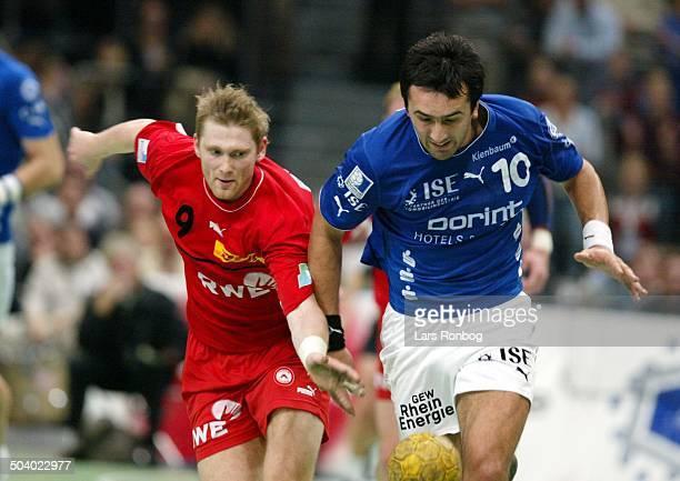 German Handball Ivan Lapcevi VfL Gummersbach JanThomas Lauritzen Tusem Essen